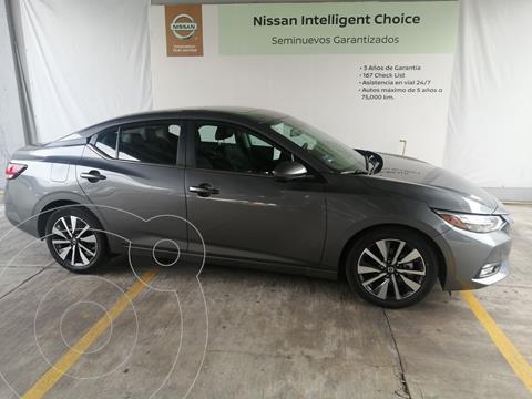Nissan Sentra Exclusive Aut usado (2021) color Gris Oscuro precio $445,000