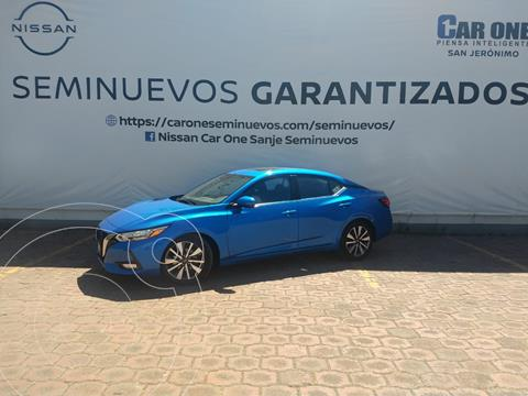 Nissan Sentra Exclusive Aut usado (2020) color Azul precio $384,900