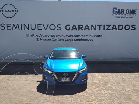 Nissan Sentra Exclusive Aut usado (2020) color Azul Electrico precio $379,900