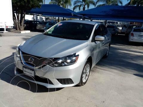Nissan Sentra Sense Aut usado (2018) color Plata precio $208,000