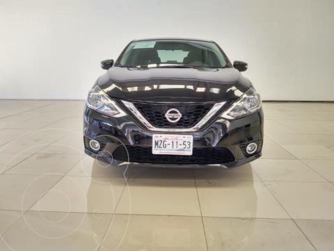 Nissan Sentra Advance usado (2017) color Negro precio $195,000