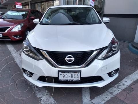 Nissan Sentra Exclusive Aut NAVI usado (2018) color Blanco precio $269,000