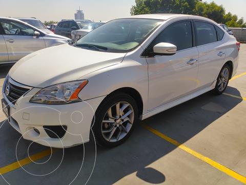 Nissan Sentra SR NAVI Aut usado (2016) color Blanco precio $205,000