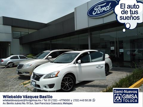 Nissan Sentra SR NAVI CVT usado (2016) color Blanco precio $173,000