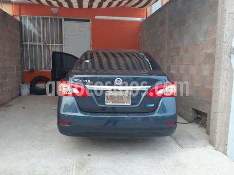 Nissan Sentra Advance Aut usado (2014) color Azul precio $138,000