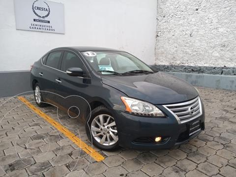 Nissan Sentra Advance Aut usado (2013) color Azul precio $149,900
