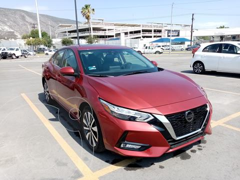 Nissan Sentra Exclusive Aut usado (2020) color Rojo precio $420,000