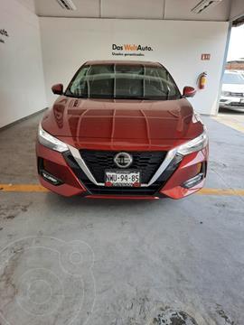 Nissan Sentra EXCLUSIVE 4P L4 2.0L VP ABS BA QC AC CVT usado (2020) color Rojo precio $399,000
