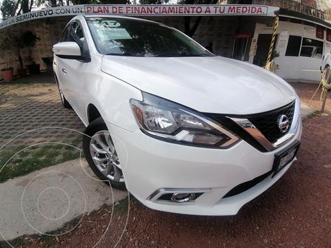 Nissan Sentra Advance usado (2017) color Blanco precio $205,000