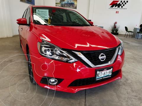 Nissan Sentra SR  usado (2017) color Rojo precio $230,000