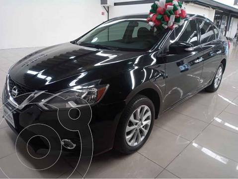 Nissan Sentra Advance Aut usado (2018) color Negro precio $250,000