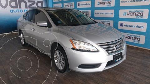 Nissan Sentra Sense Aut usado (2014) color Plata Dorado precio $165,000