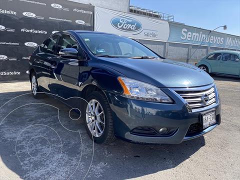Nissan Sentra 4P ADVANCE L4/1.8 AUT usado (2014) color Azul Marino precio $145,000