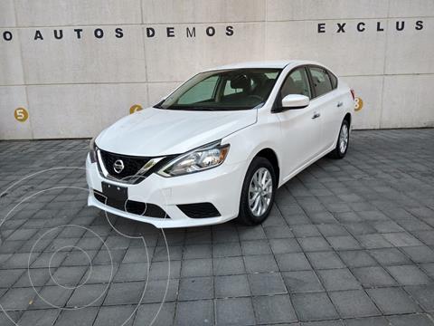 Nissan Sentra Sense usado (2018) color Blanco precio $209,900