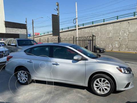 Nissan Sentra Sense Aut usado (2018) color Plata precio $195,000