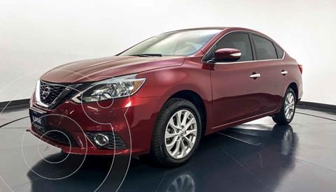 Nissan Sentra Advance Aut usado (2018) color Rojo precio $202,999