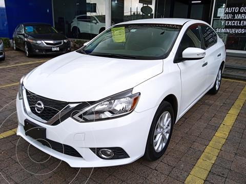 Nissan Sentra Advance usado (2018) color Blanco precio $235,000
