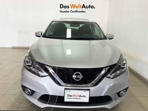 Nissan Sentra Exclusive Aut NAVI usado (2017) color Plata precio $244,995