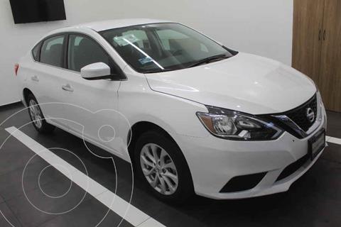 Nissan Sentra Sense Aut usado (2019) color Blanco precio $259,000