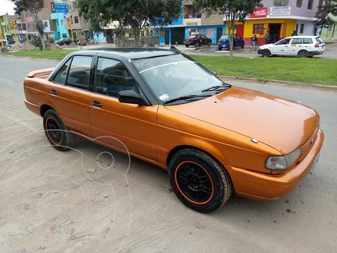 Nissan Sentra S- Saloon 1.6 automatico usado (1991) color Naranja precio $15,500
