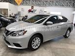 Foto venta Auto usado Nissan Sentra Sense Aut (2017) color Plata precio $209,000