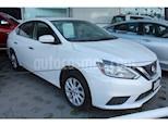 Foto venta Auto usado Nissan Sentra Sense Aut color Blanco precio $198,000