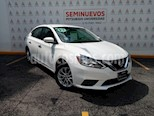 Foto venta Auto usado Nissan Sentra Sense Aut (2017) color Blanco precio $203,000