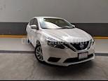 Foto venta Auto usado Nissan Sentra Sense Aut (2018) color Blanco precio $239,000