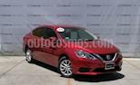 Foto venta Auto usado Nissan Sentra Sense (2018) color Rojo Burdeos precio $245,000