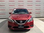 Foto venta Auto Seminuevo Nissan Sentra Sense (2017) color Rojo Burdeos precio $207,000