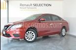 Foto venta Auto usado Nissan Sentra Sense (2017) color Rojo Burdeos precio $210,000