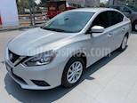Foto venta Auto usado Nissan Sentra Sense (2017) color Plata precio $187,000
