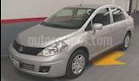 Foto venta Auto usado Nissan Tiida HB 4p Sedan Custom Man CD (2015) color Plata precio $133,000