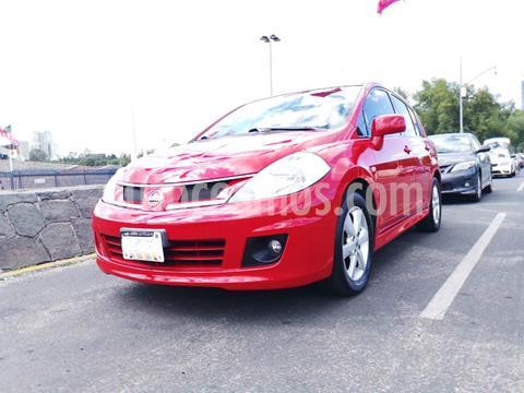 Nissan Tiida HB Emotion Aut usado (2012) color Rojo precio $105,000