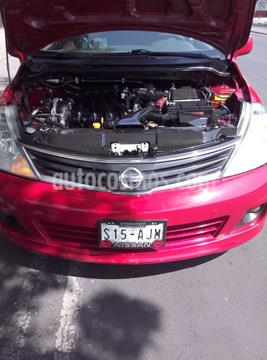 Nissan Tiida HB Emotion Aut  usado (2013) color Rojo precio $104,900