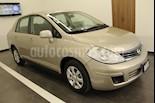 Foto venta Auto usado Nissan Tiida Sedan Comfort Aut Ac (2011) color Dorado precio $95,000