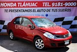 Foto venta Auto usado Nissan Tiida Sedan Custom Ac color Rojo precio $85,000
