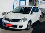 Foto venta Auto usado Nissan Tiida Sedan Custom Ac (2008) color Blanco precio $85,000
