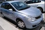 Foto venta Auto usado Nissan Tiida Sedan Custom Aut Ac (2010) color Azul precio $89,000