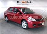 Foto venta Auto Seminuevo Nissan Tiida Sedan Custom Aut (2012) color Rojo Burdeos precio $118,000