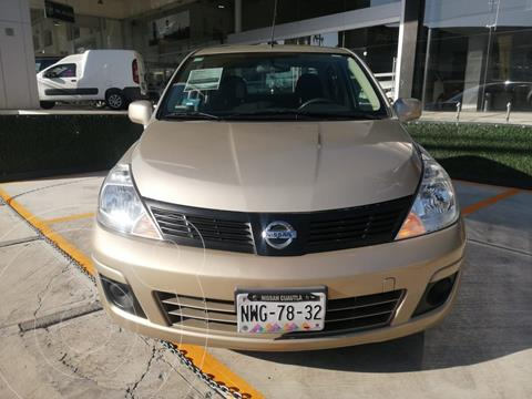 Nissan Tiida Sedan Sense usado (2018) color Dorado precio $150,000