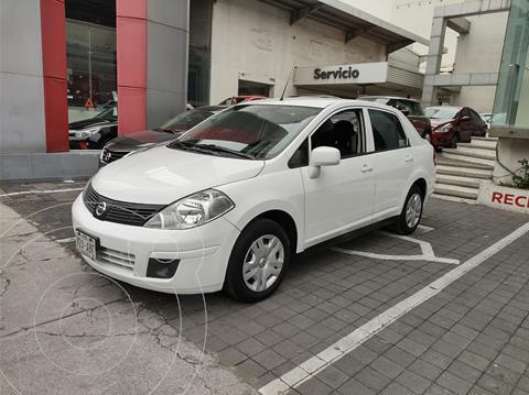 Nissan Tiida Sedan Sense usado (2015) color Blanco precio $132,000