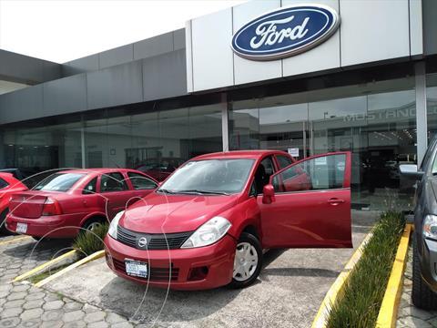 Nissan Tiida Sedan ADVANCE T/M usado (2015) color Rojo precio $122,000