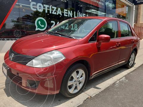 Nissan Tiida Sedan Sense Aut usado (2015) color Rojo precio $138,000