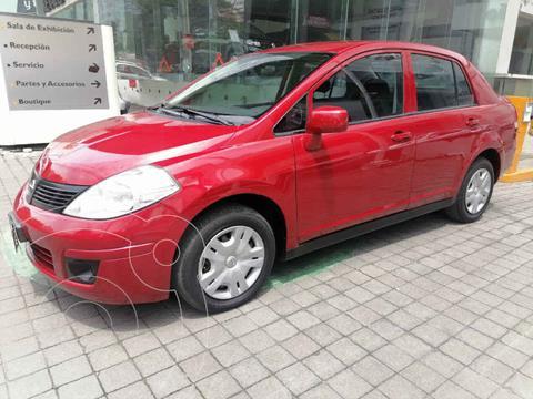 Nissan Tiida Sedan Comfort Ac usado (2012) color Rojo precio $125,000