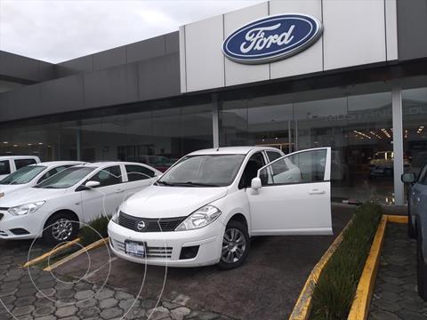 Nissan Tiida Sedan Sense Aut usado (2017) color Blanco precio $139,000