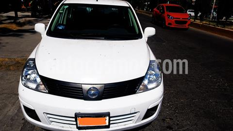 Nissan Tiida Sedan Advance usado (2018) color Blanco precio $150,000