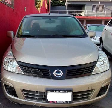 Nissan Tiida Sedan Sense Aut usado (2015) color Dorado precio $127,000