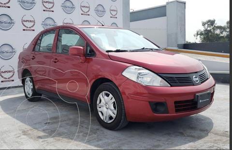 Nissan Tiida Sedan Sense usado (2016) color Rojo Burdeos precio $149,900