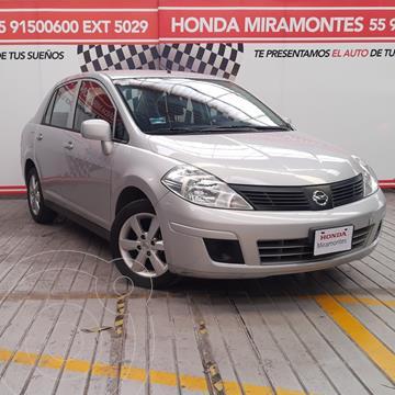 Nissan Tiida Sedan Advance usado (2016) color Plata financiado en mensualidades(enganche $43,250 mensualidades desde $4,081)